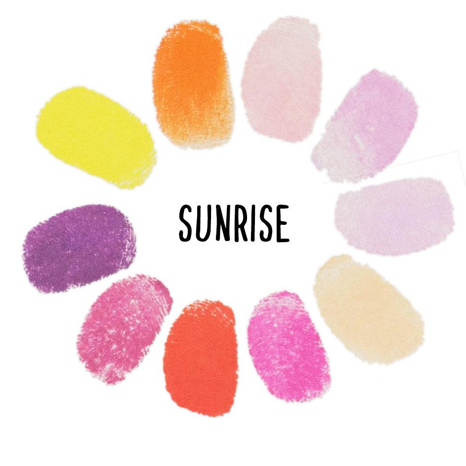 stempelset_sunrise